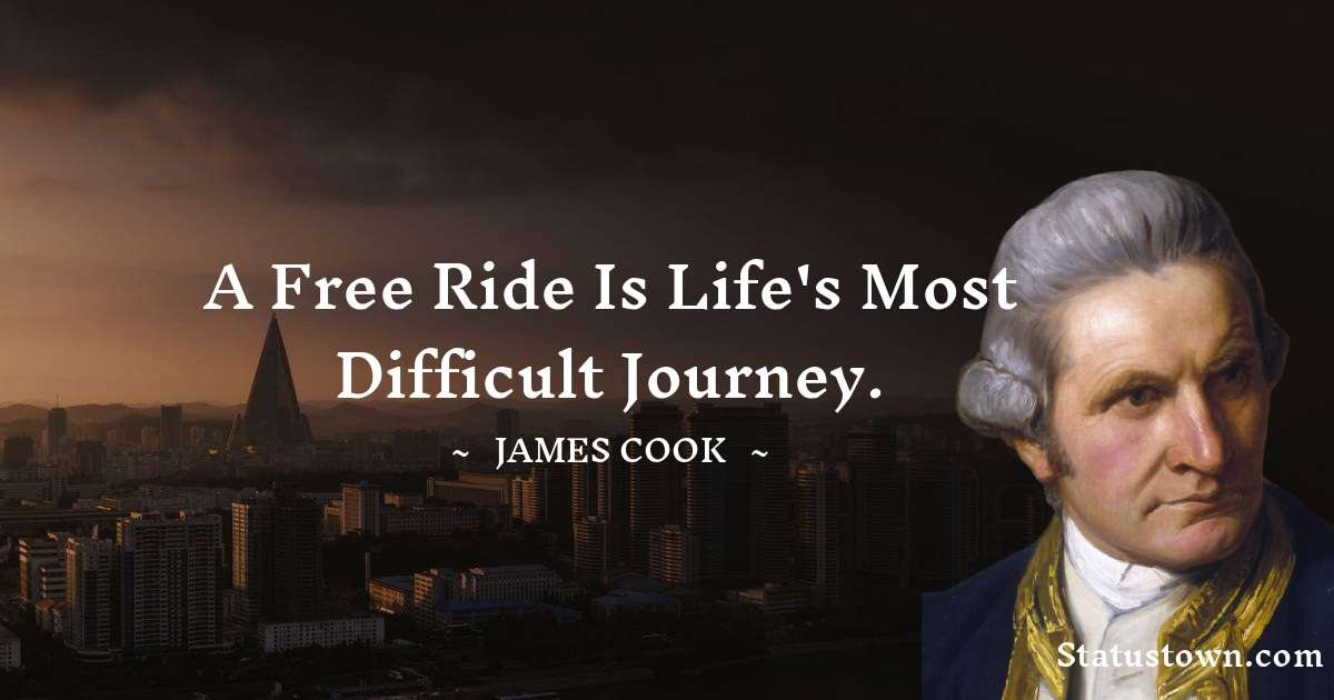 james Cook Positive Quotes