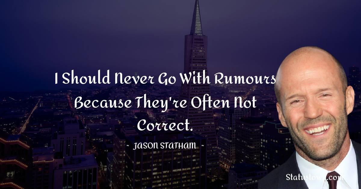 Jason Statham Inspirational Quotes