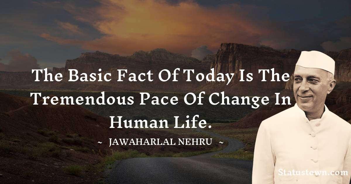 Jawaharlal Nehru Status