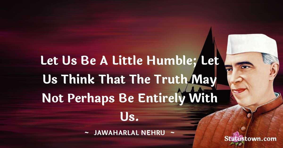 Jawaharlal Nehru Motivational Quotes