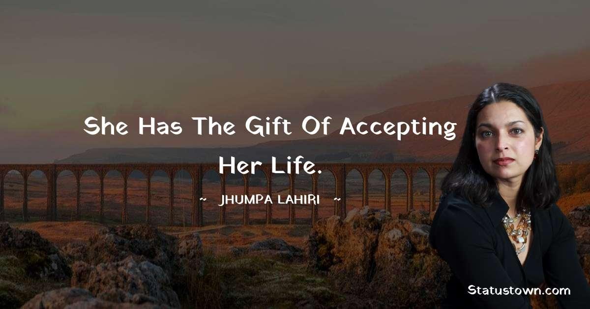 Jhumpa Lahiri Status