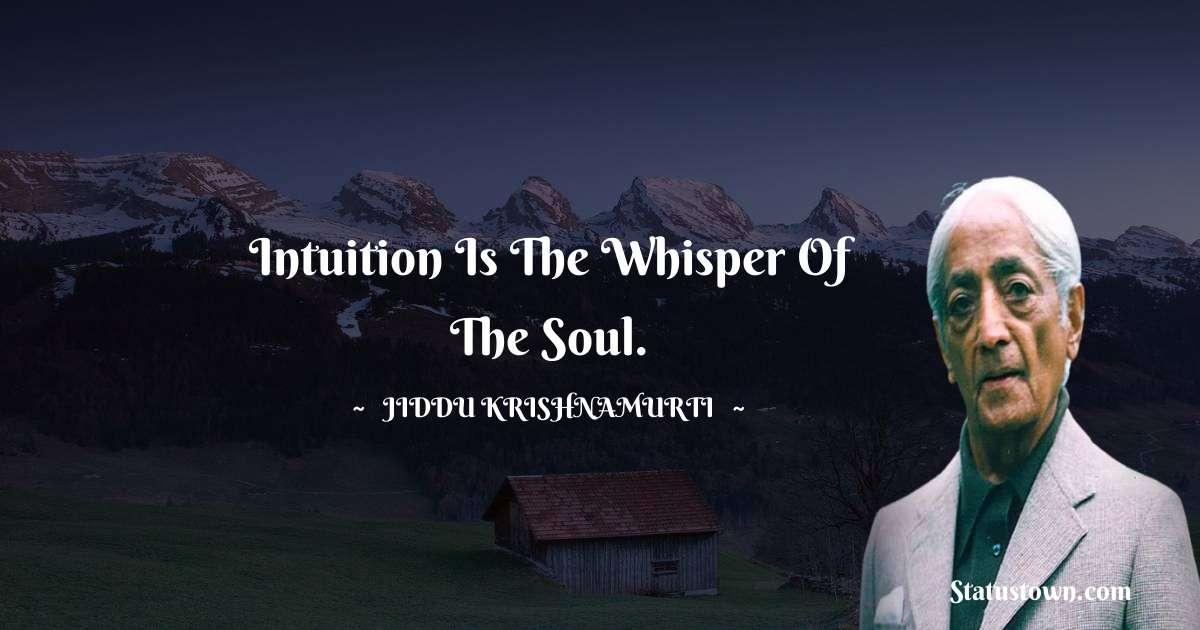 Jiddu Krishnamurti quotes for success