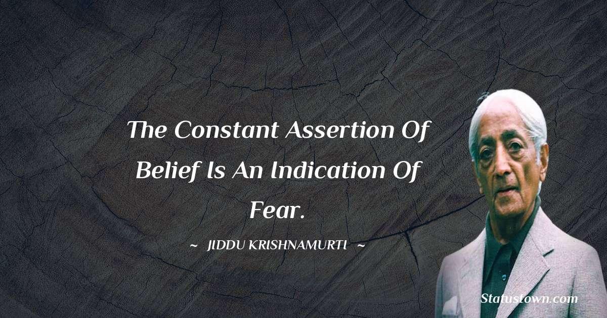 Jiddu Krishnamurti about life