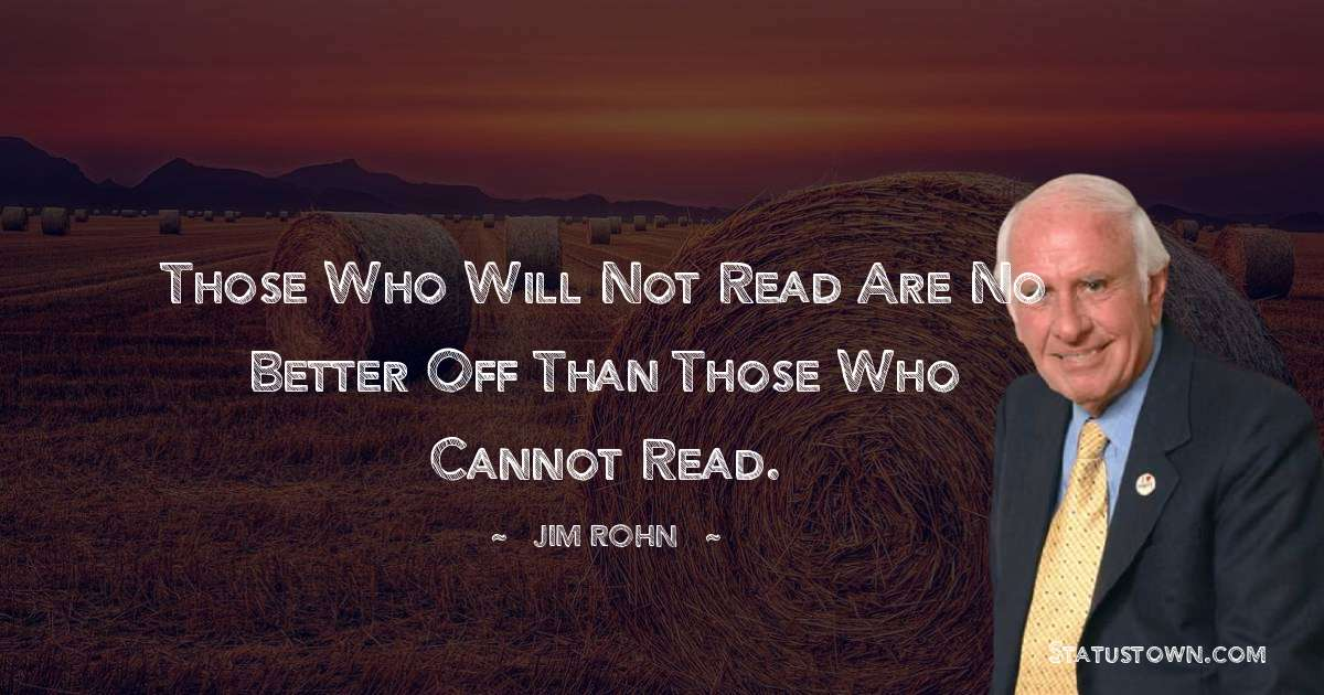 Jim Rohn Short Quotes