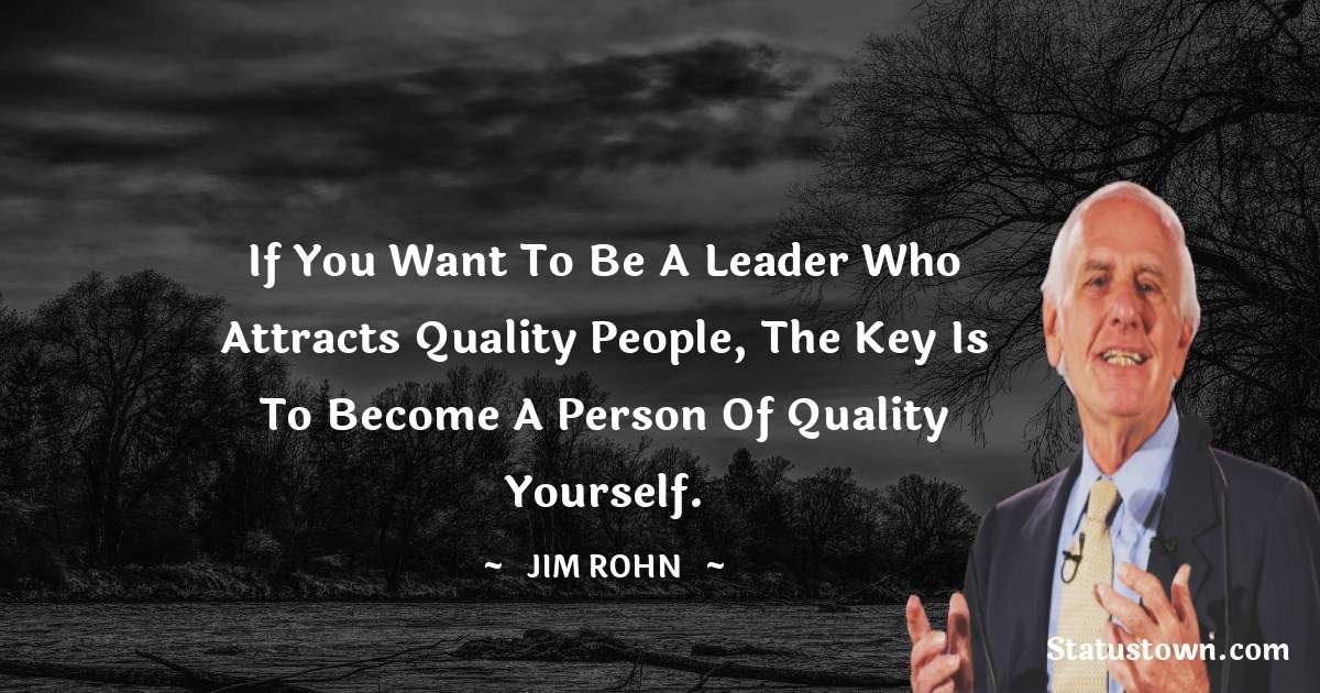 Jim Rohn Positive Quotes