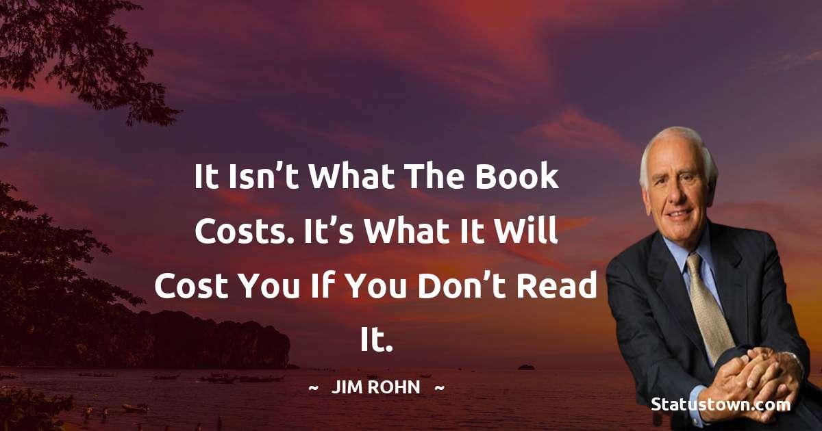 Jim Rohn Unique Quotes