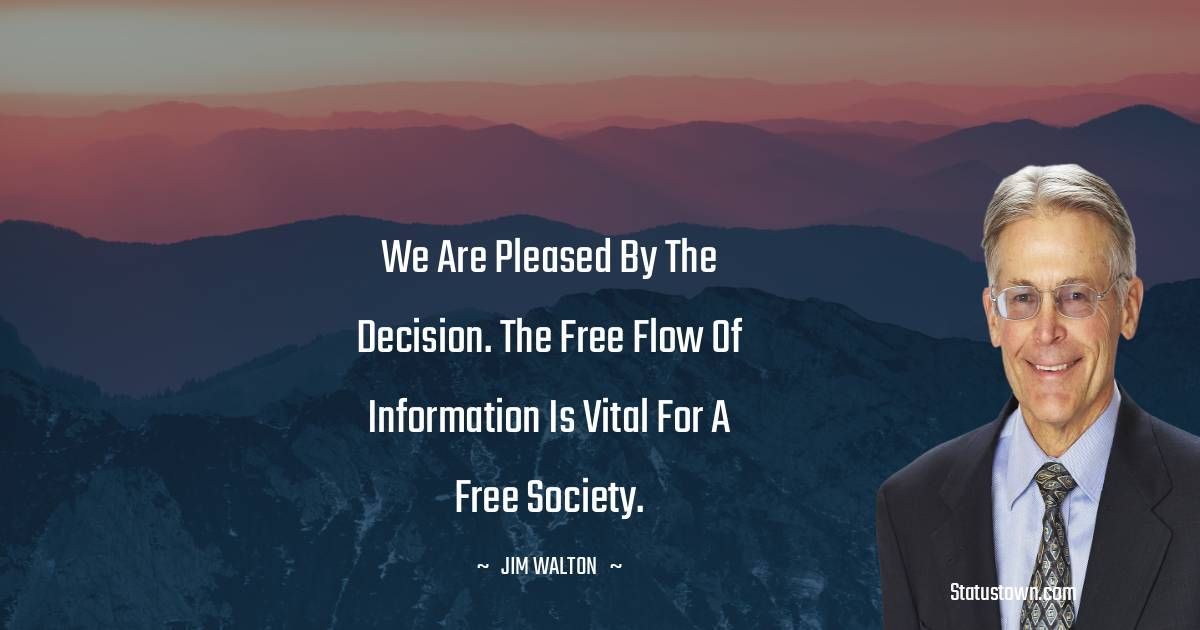 Jim Walton Inspirational Quotes