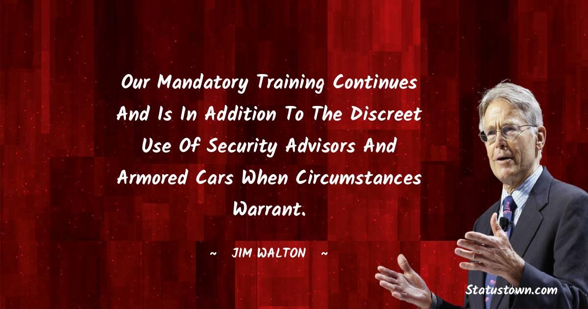 Jim Walton Positive Quotes