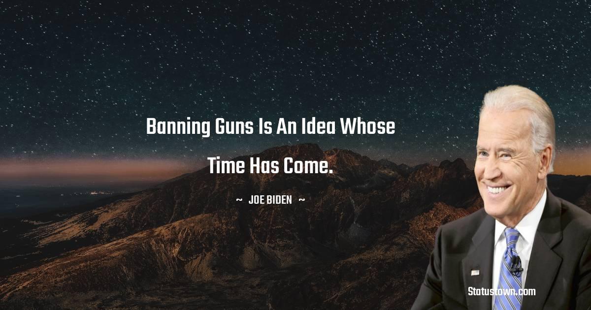 Joe Biden Status