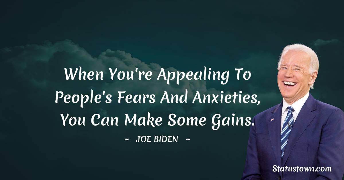 Joe Biden Positive Thoughts