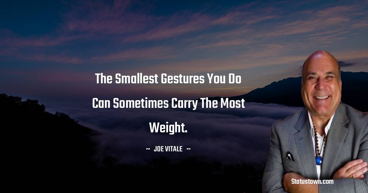 Joe Vitale Positive Quotes