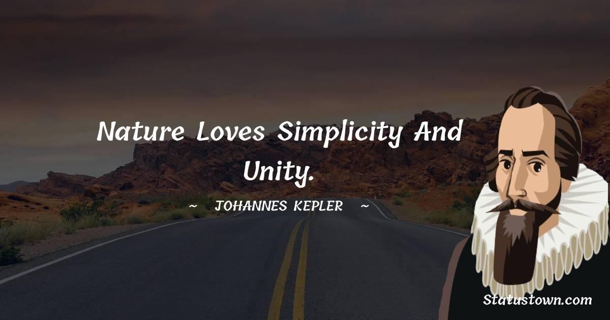 Johannes Kepler Short Quotes