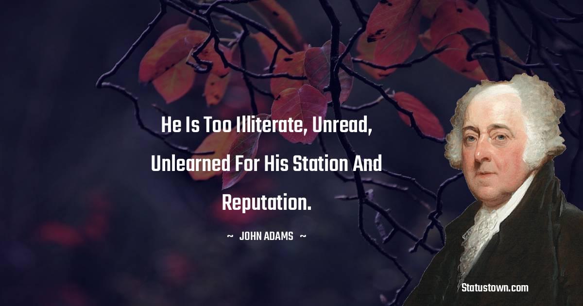 John Adams Positive Thoughts