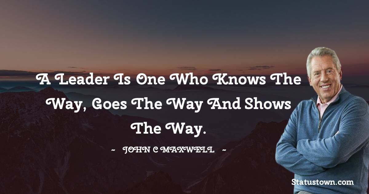 John C. Maxwell Quotes images