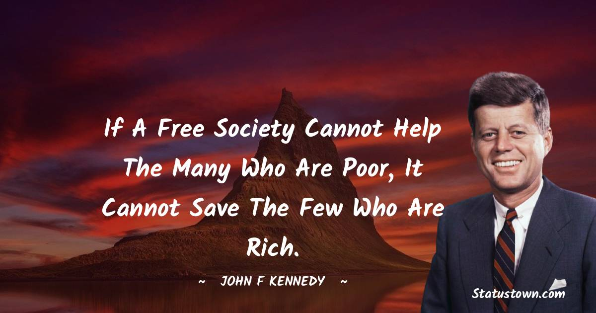 John F. Kennedy Positive Thoughts