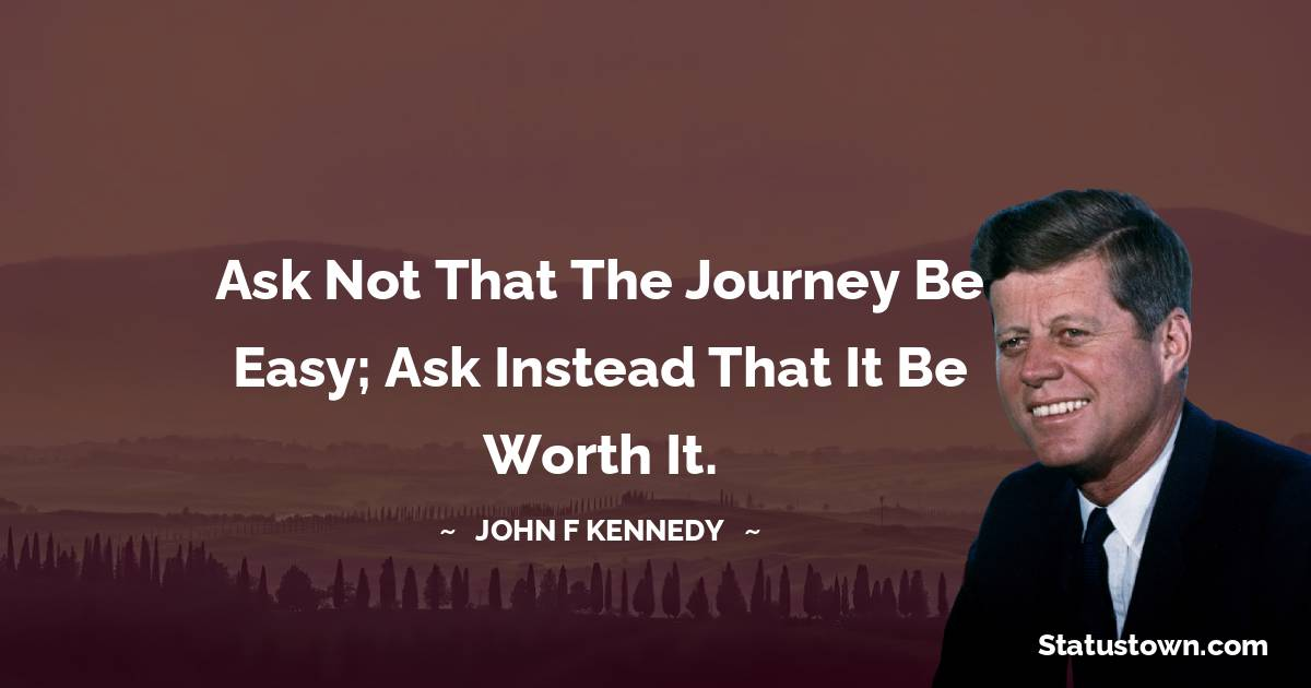 John F. Kennedy Inspirational Quotes