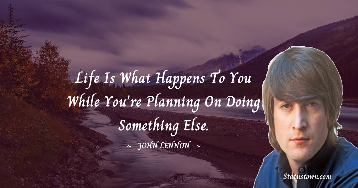 John Lennon Quotes on Failure