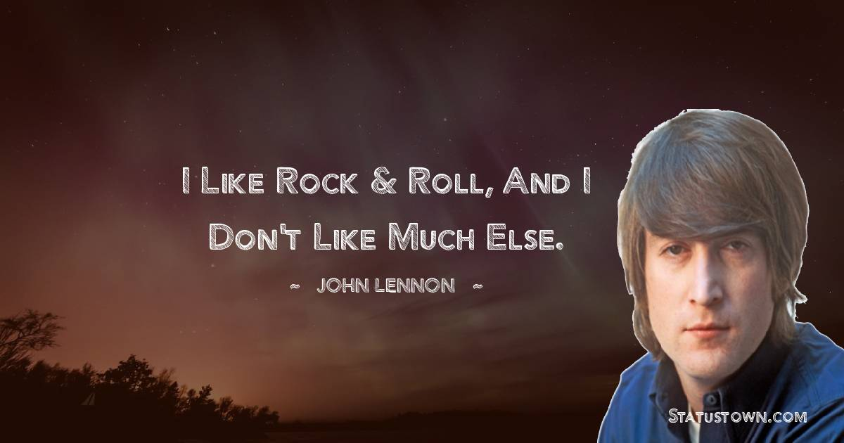 John Lennon Status