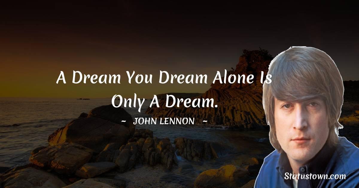 John Lennon Short Quotes