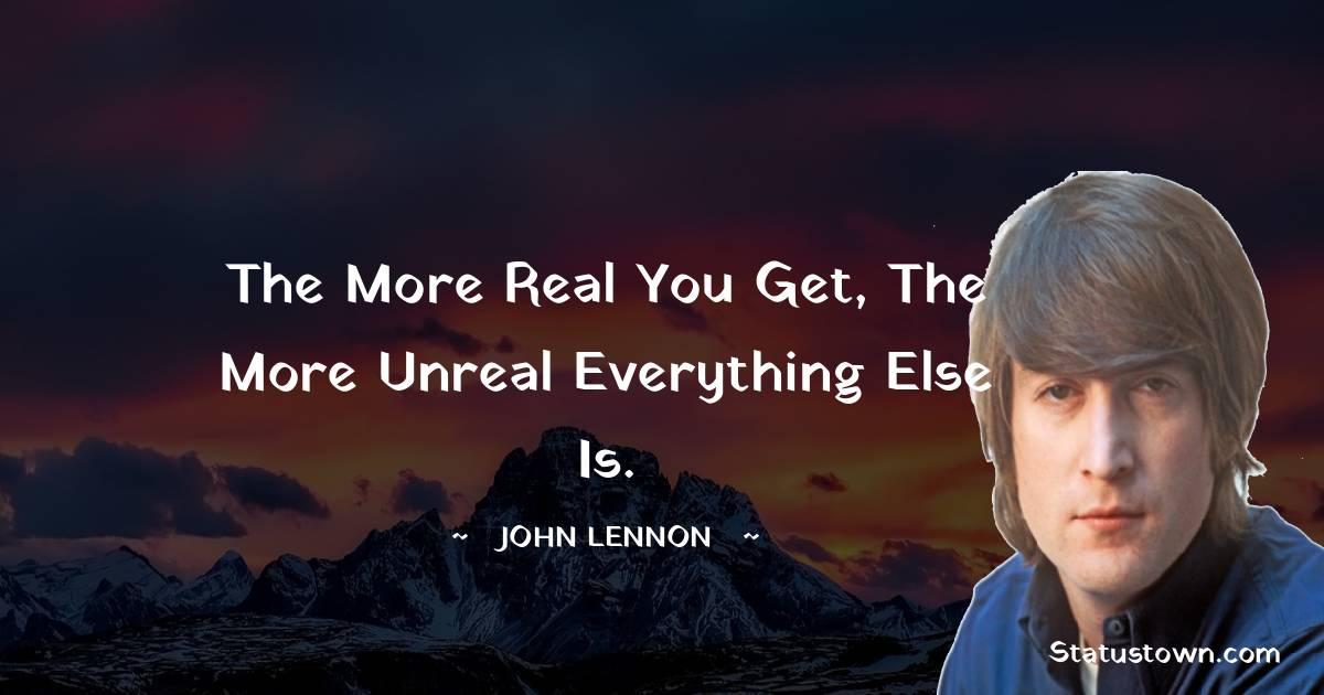 John Lennon Encouragement Quotes