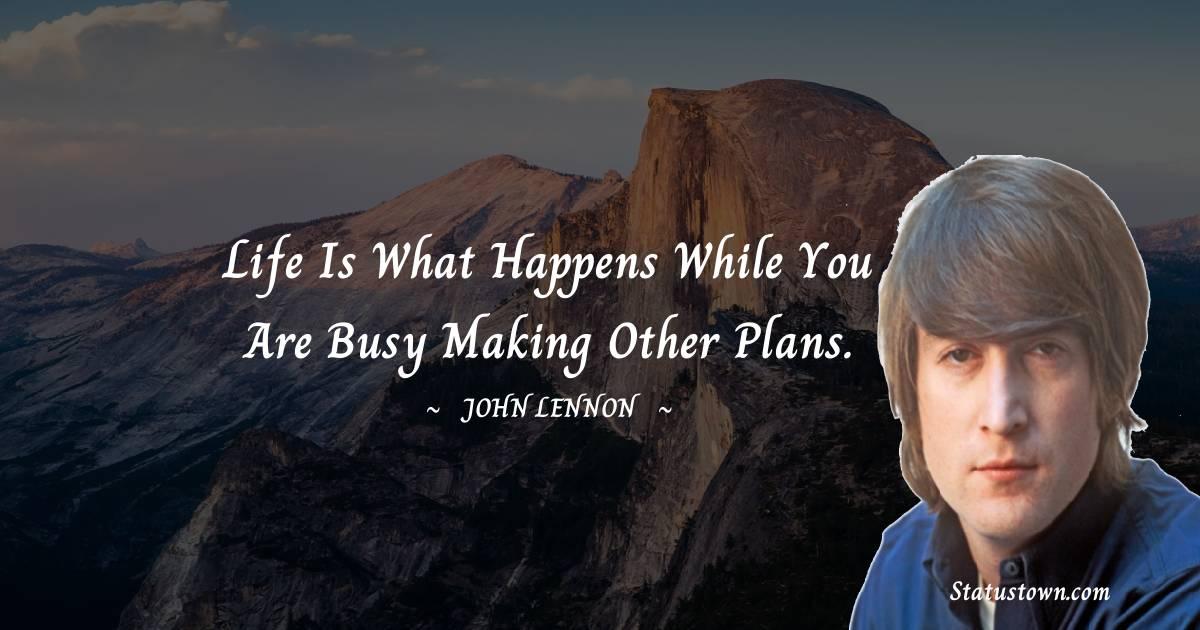 John Lennon Positive Quotes