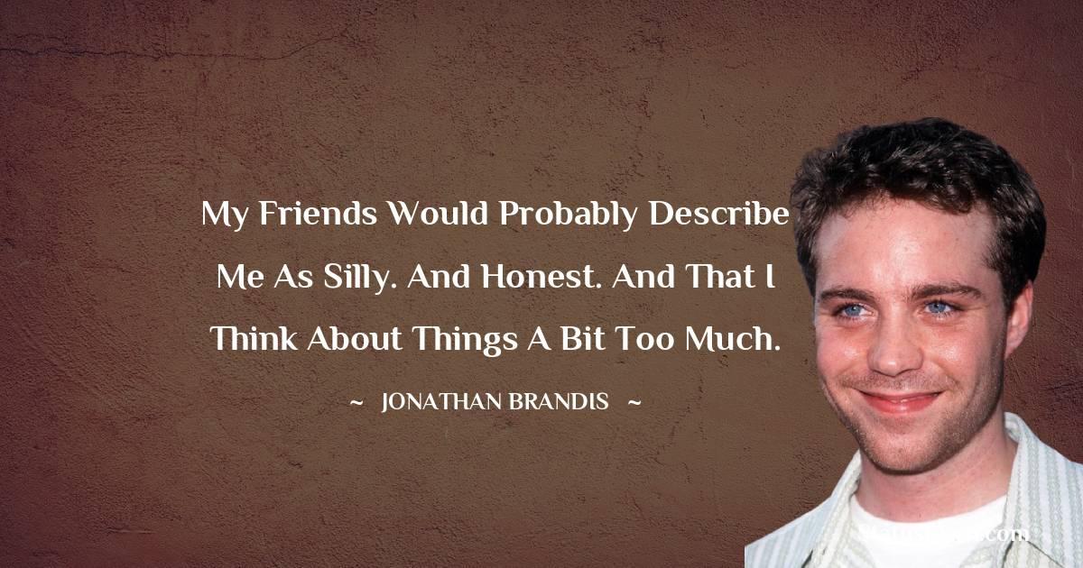 Jonathan Brandis Quotes images