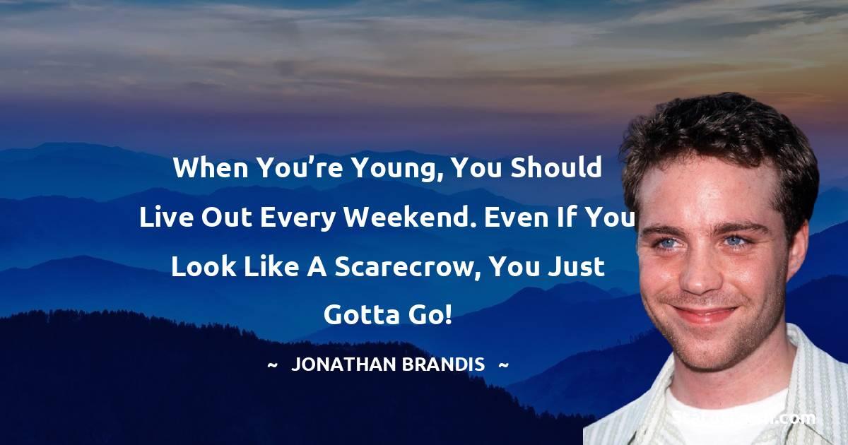 Jonathan Brandis Positive Thoughts
