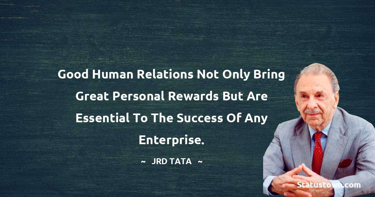 JRD Tata JRD Tata Positive Quotes