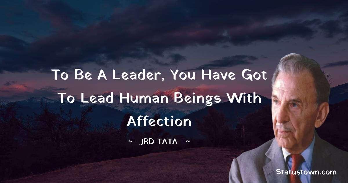 JRD Tata Motivational Quotes