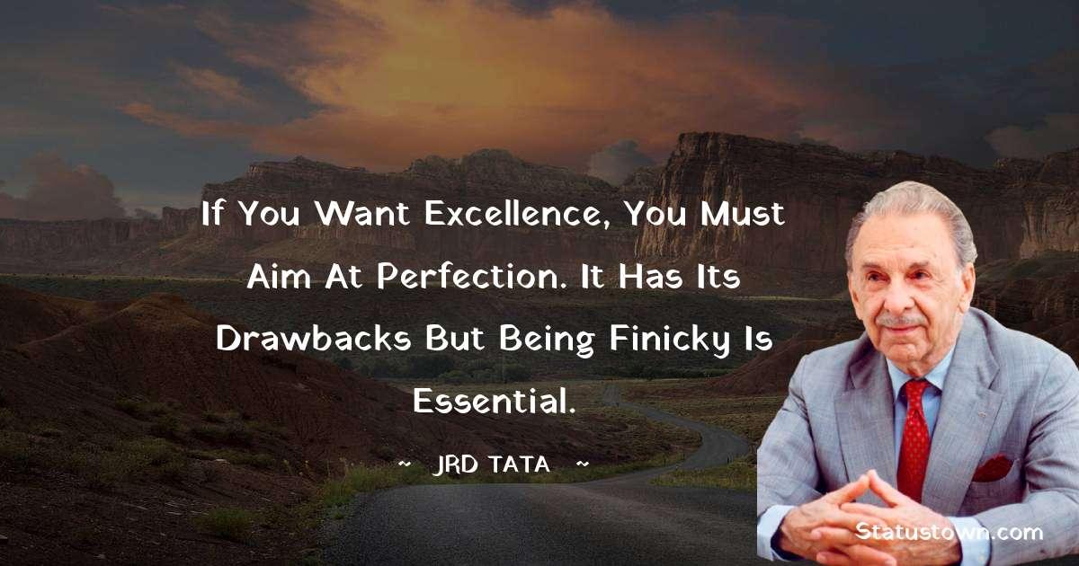 JRD Tata Inspirational Quotes