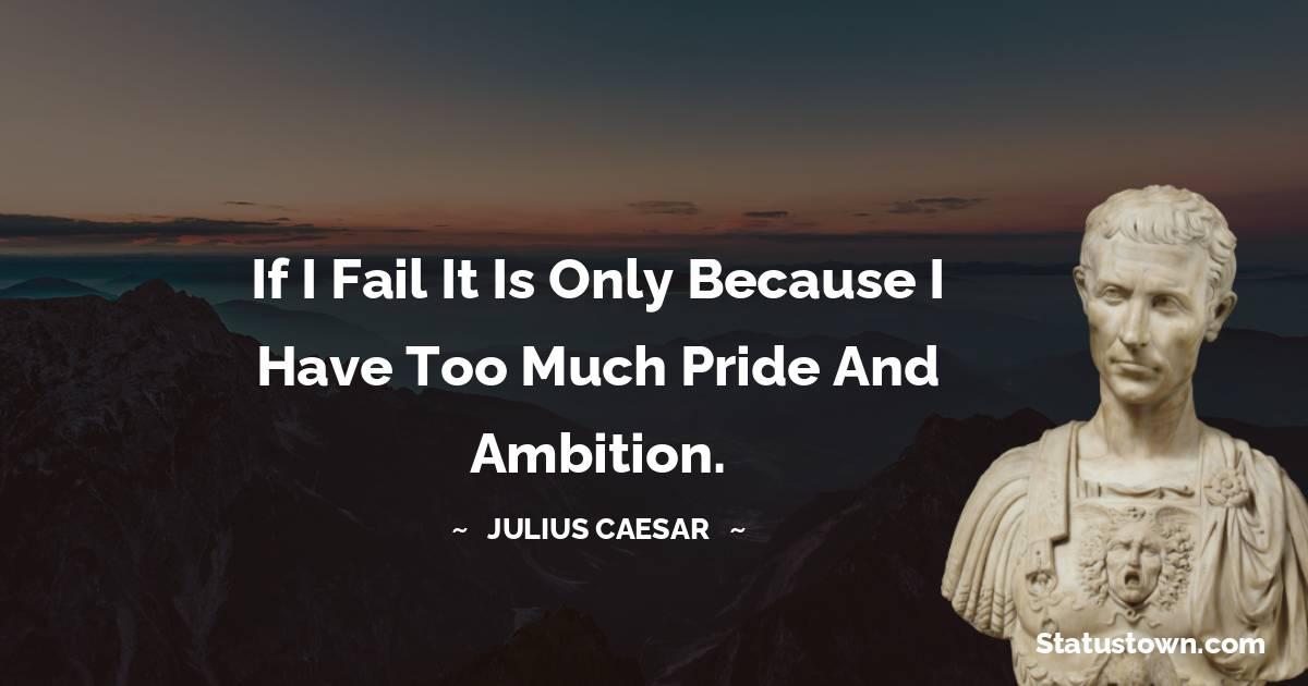 Julius Caesar Thoughts