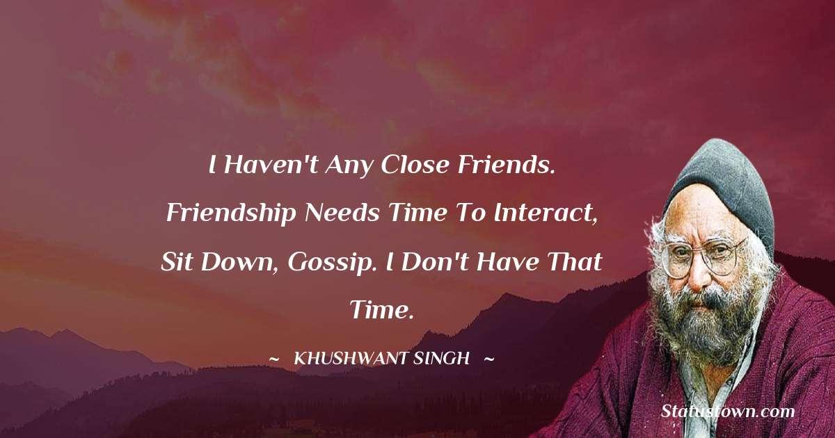 Khushwant Singh motivational Status