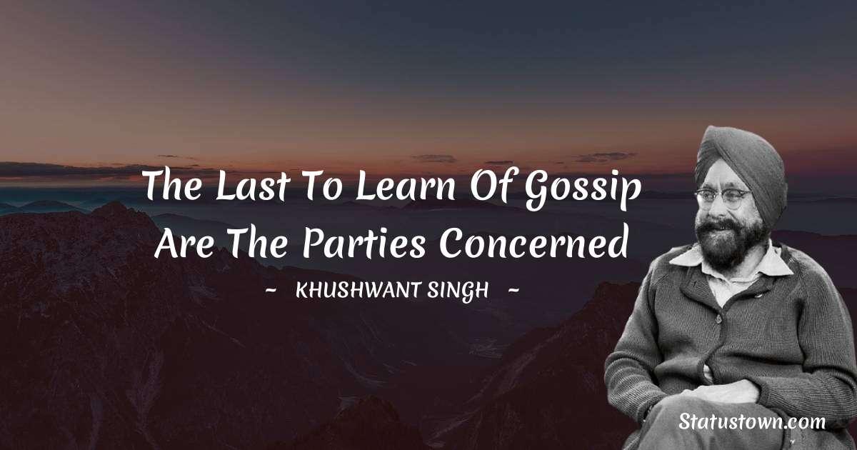 Khushwant Singh motivational quotes
