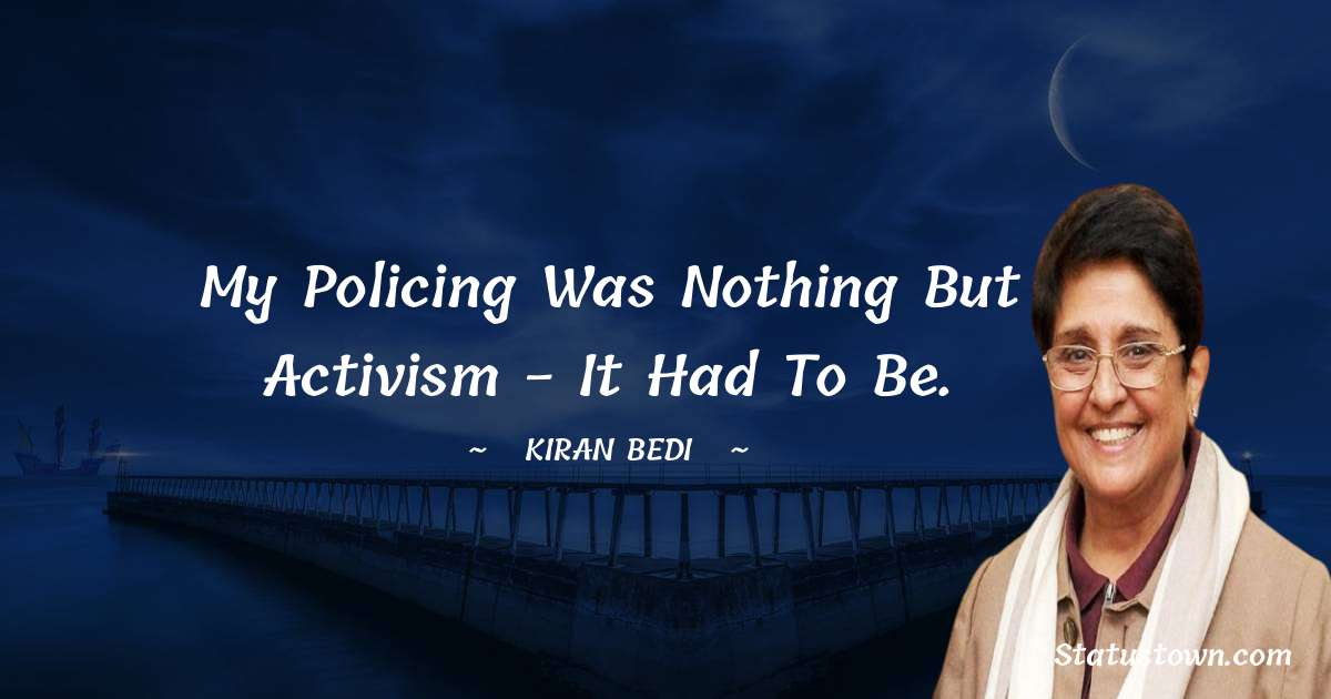 Kiran Bedi quotes for success