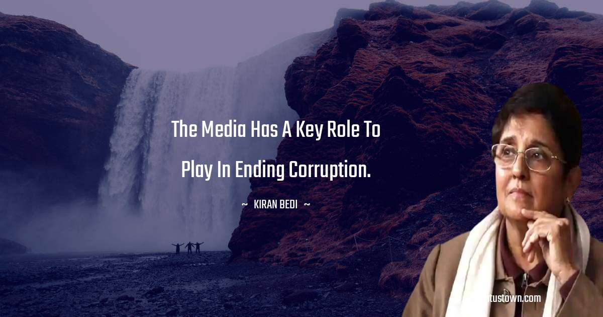 Kiran Bedi quotes for work