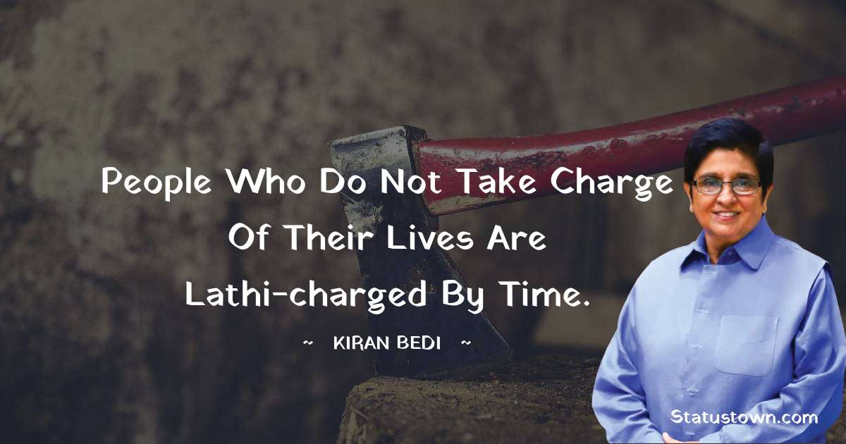 Kiran Bedi motivational Status