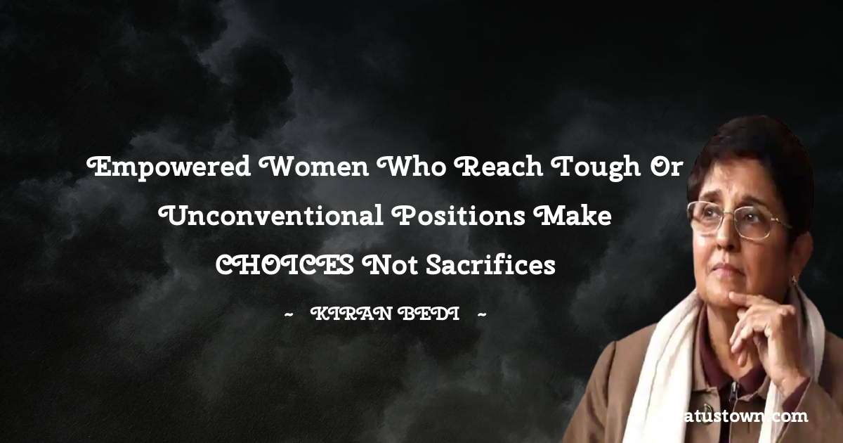 Kiran Bedi motivational quotes