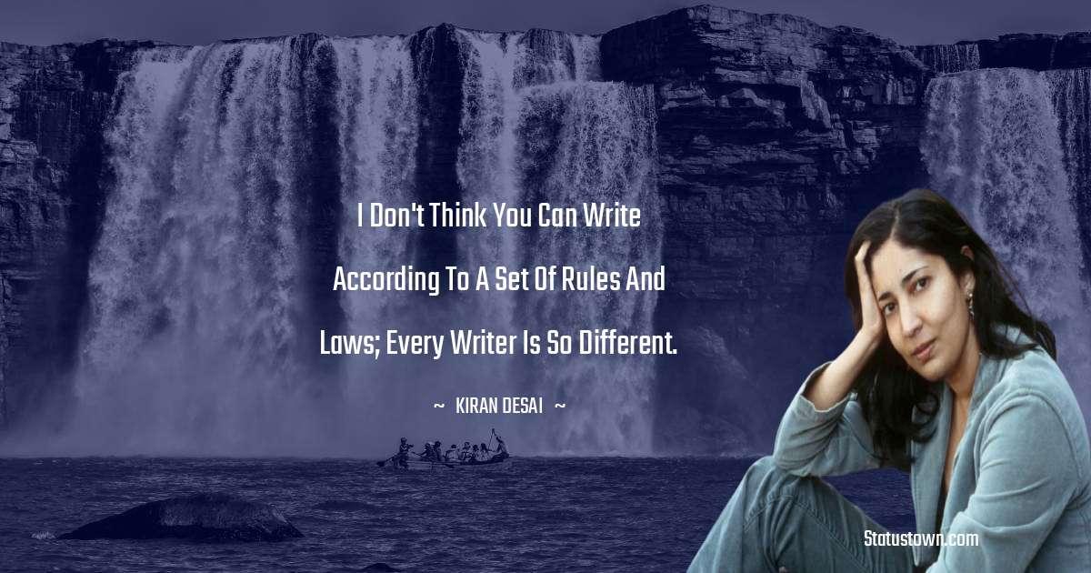 Kiran Desai positive quotes