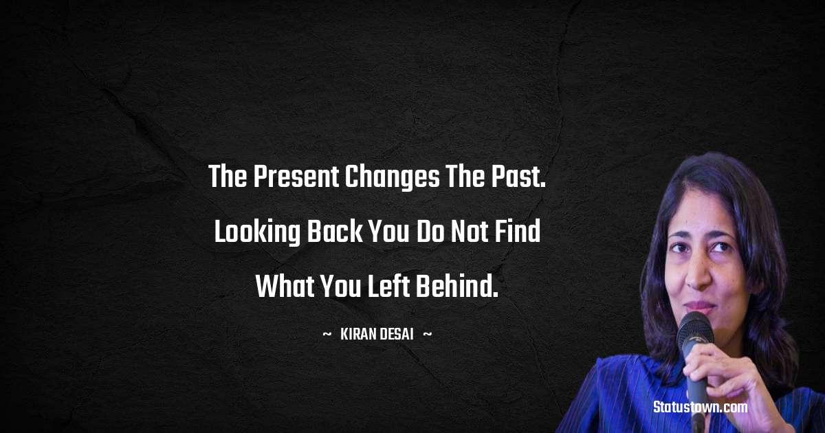 Kiran Desai motivational Status