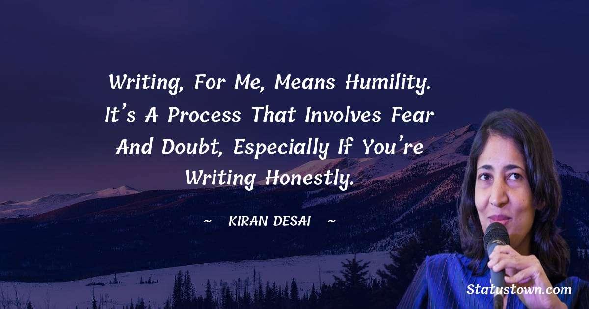 Kiran Desai inspirational quotes