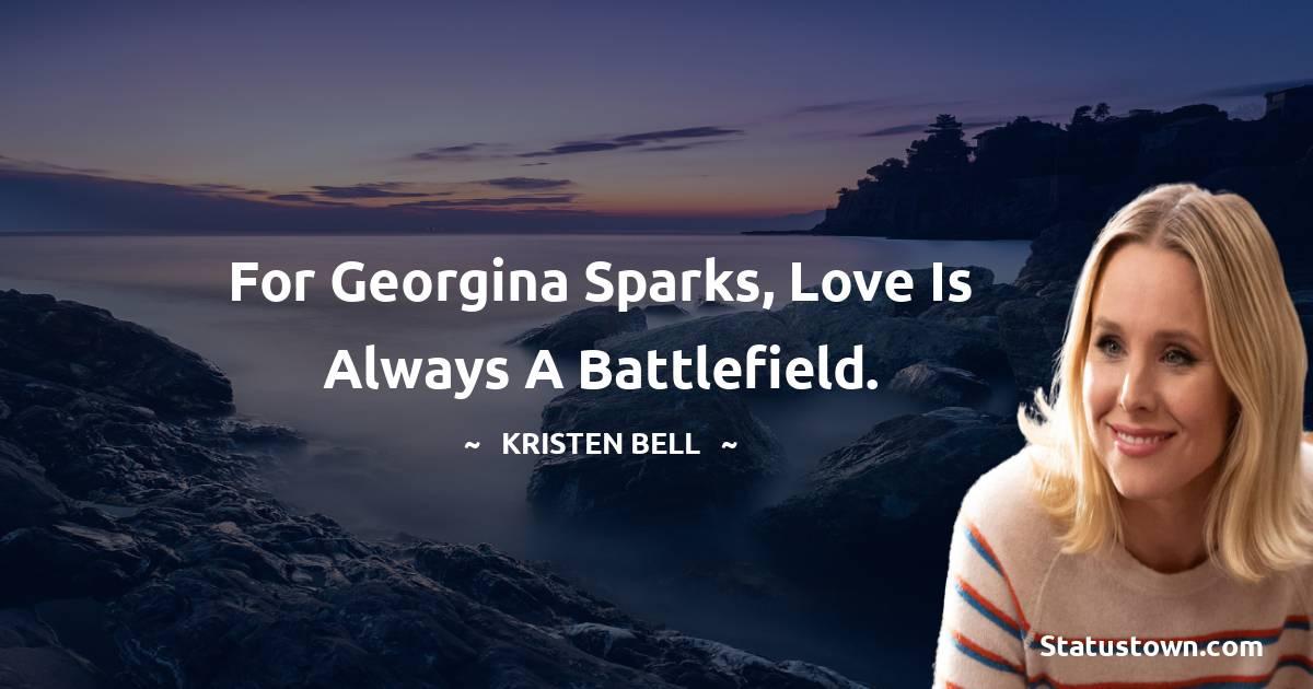 Kristen Bell Status