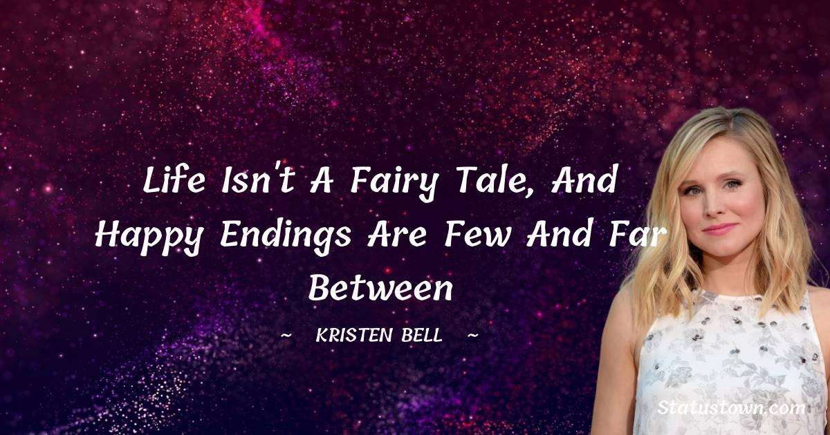 Kristen Bell Motivational Quotes