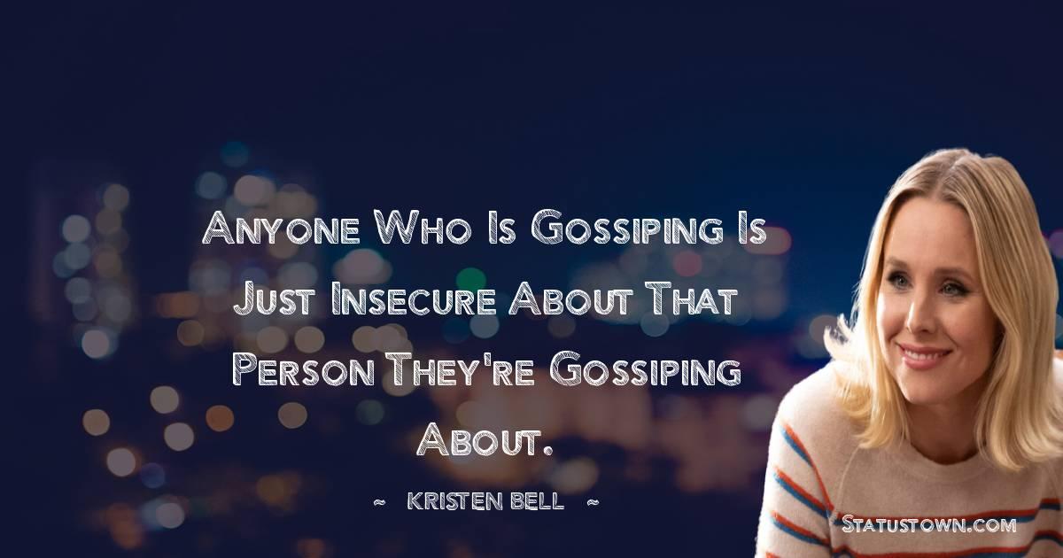 Kristen Bell Inspirational Quotes