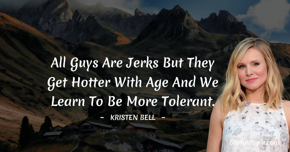 Kristen Bell Thoughts