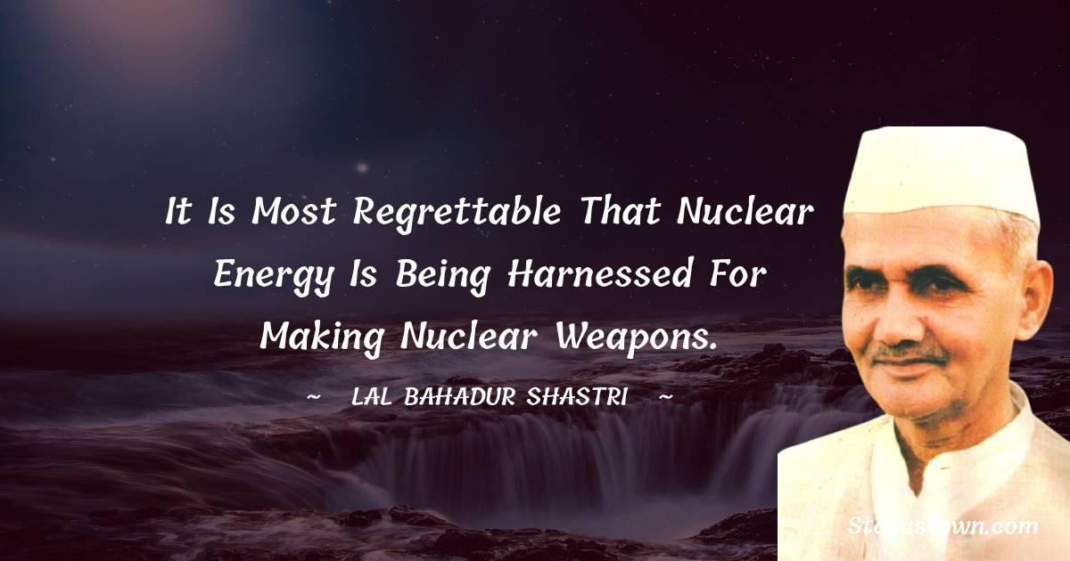 Lal Bahadur Shastri Positive Thoughts