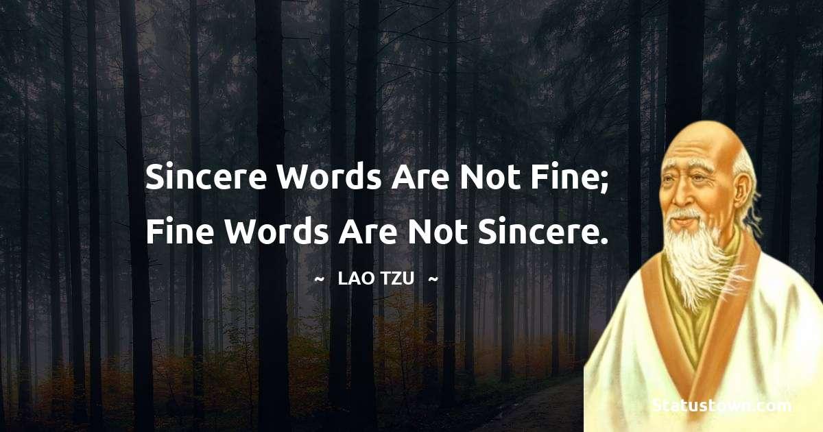 Lao Tzu Short Quotes