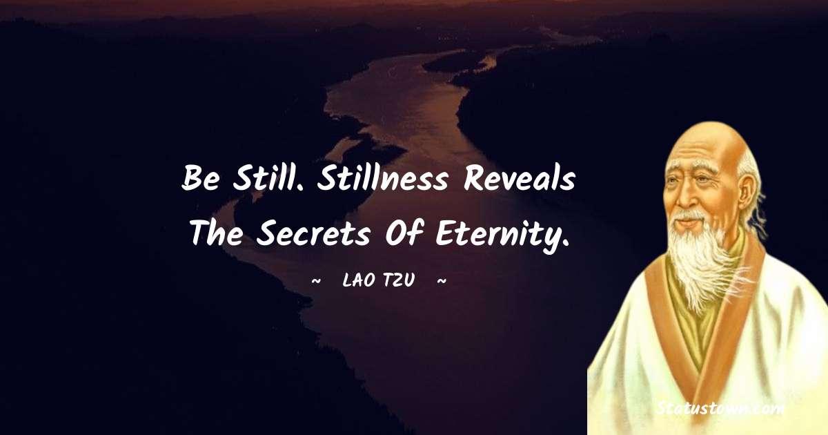 Lao Tzu Unique Quotes