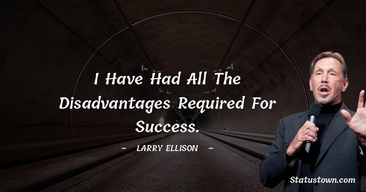Larry Ellison Status