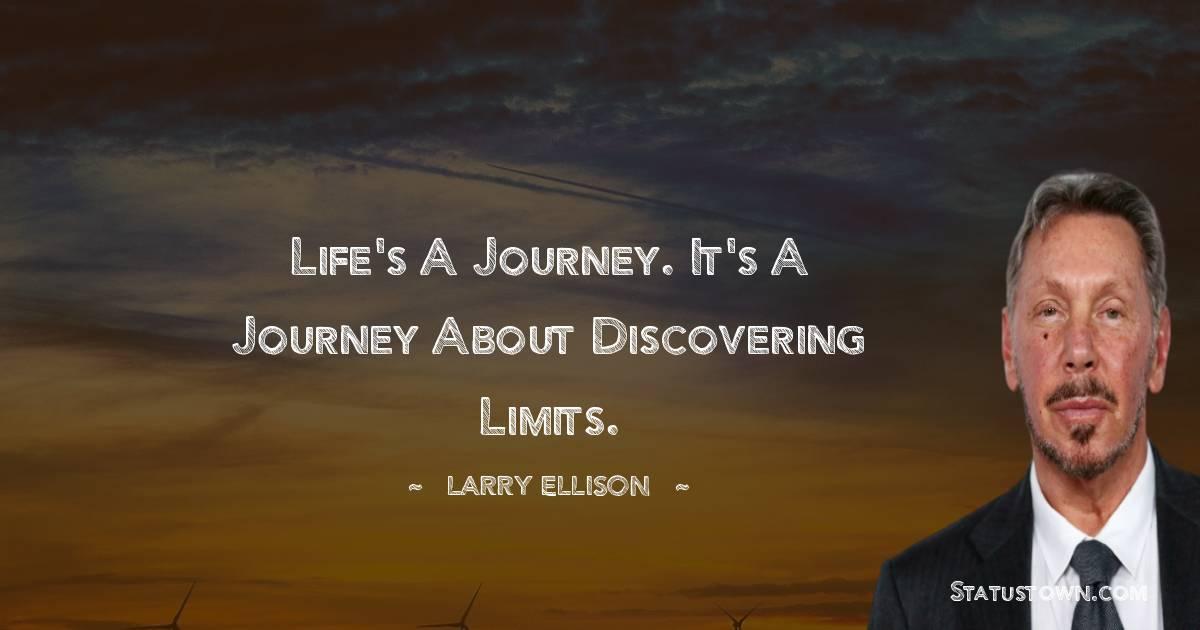 Larry Ellison Unique Quotes