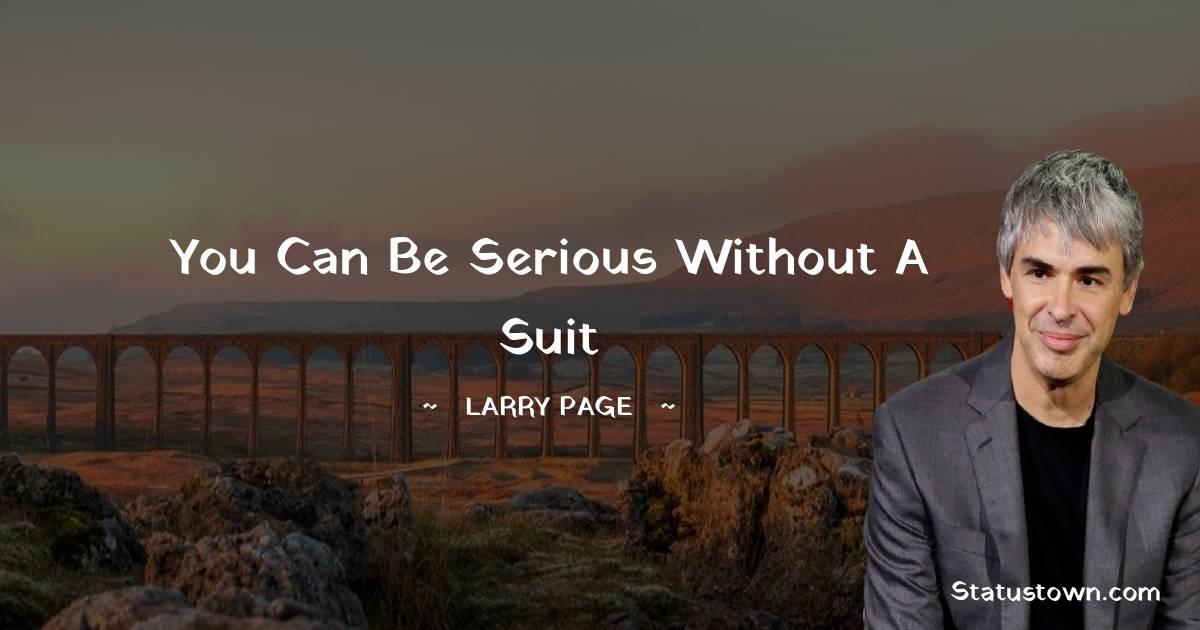 Larry Page Status